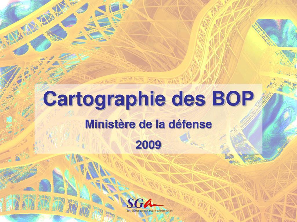 Cartographie des BOP