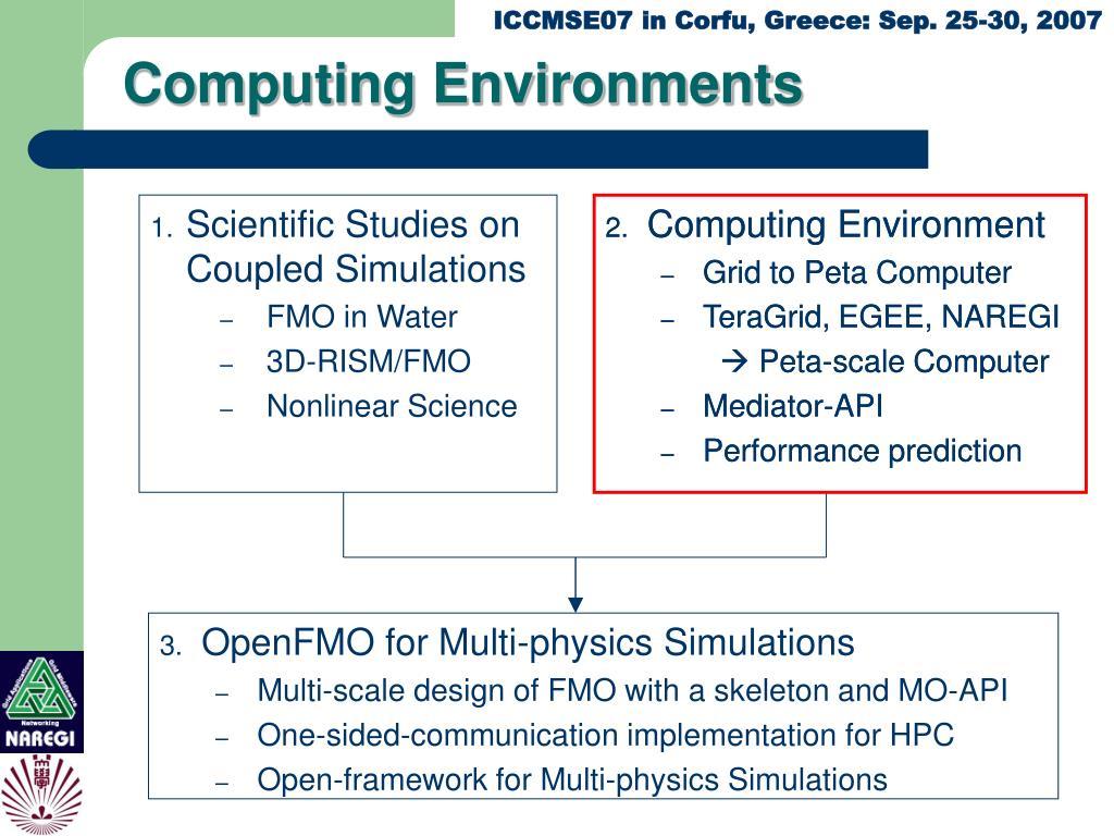Computing Environments