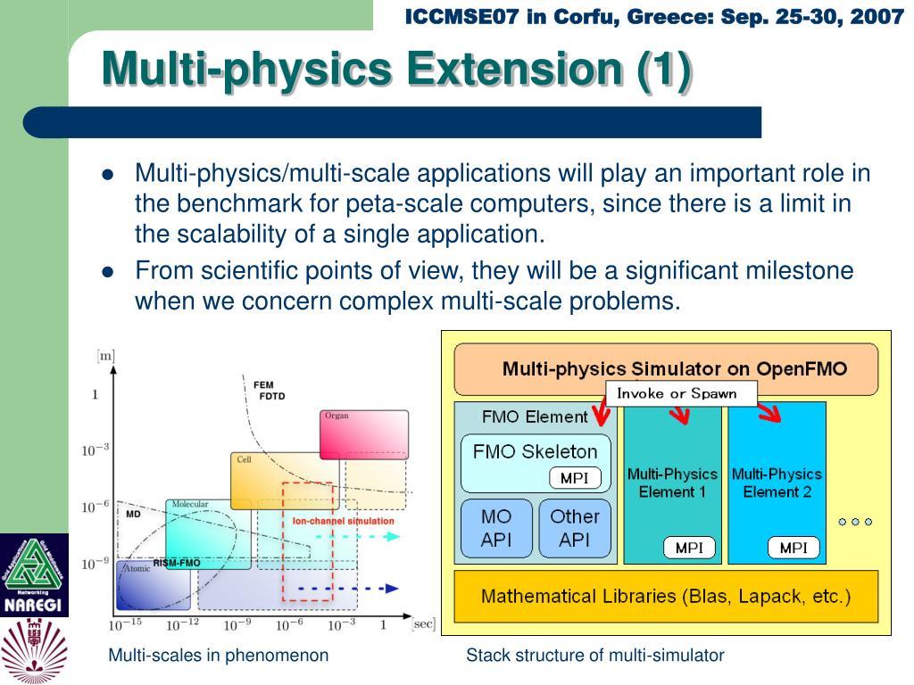 Multi-physics Extension (1)