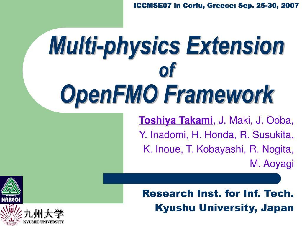 Multi-physics Extension