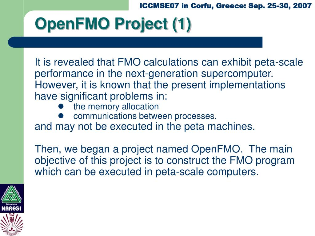 OpenFMO Project (1)