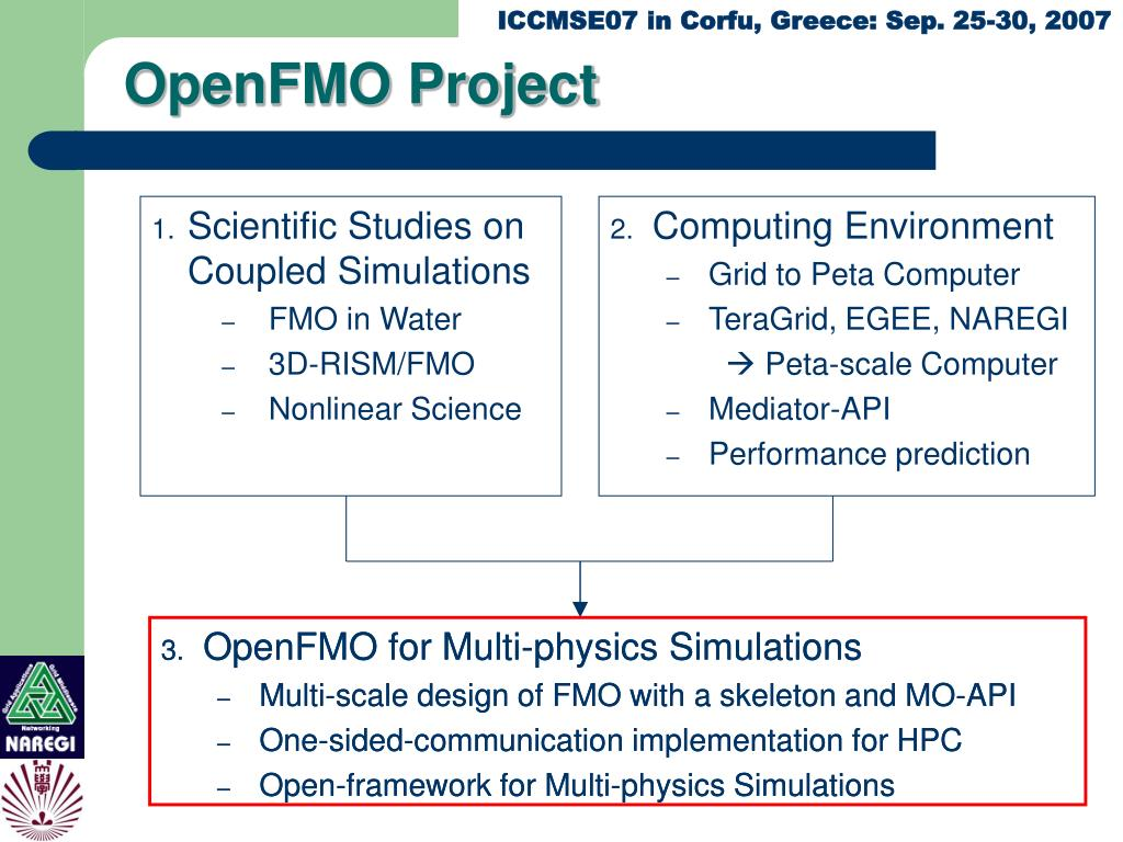 OpenFMO Project