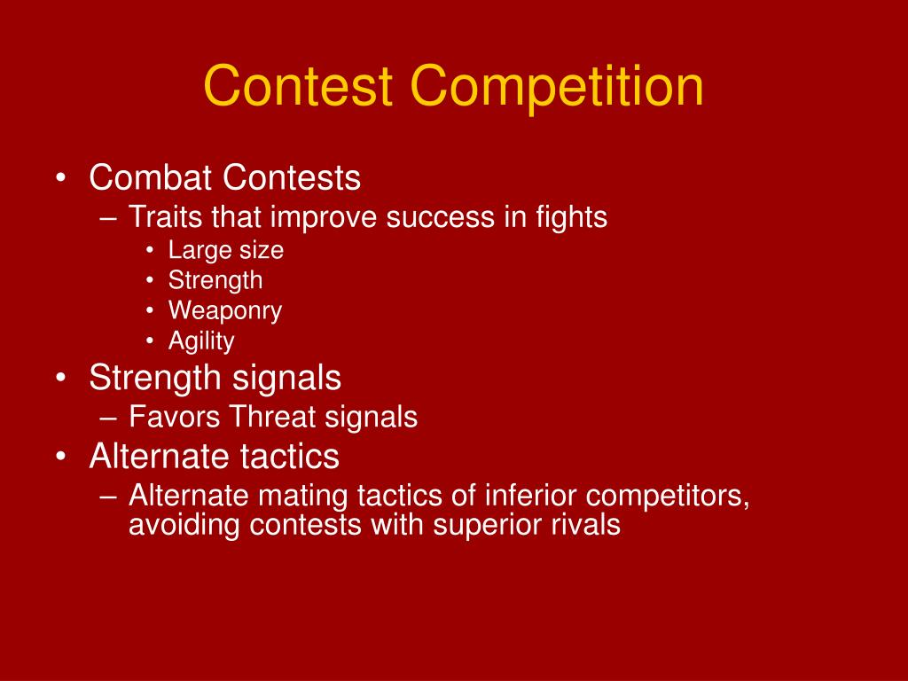 Contest Competition