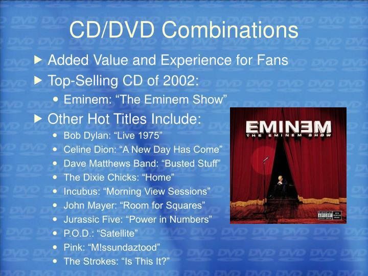 CD/DVD Combinations