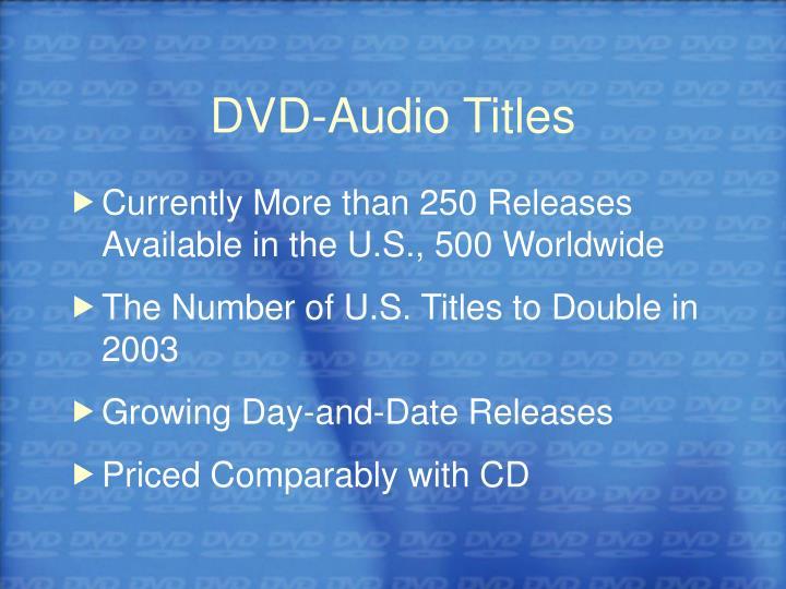 DVD-Audio Titles