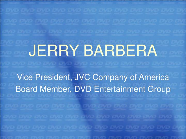 JERRY BARBERA