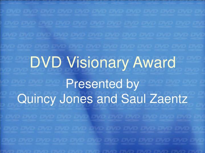 DVD Visionary Award