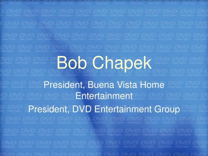 Bob Chapek