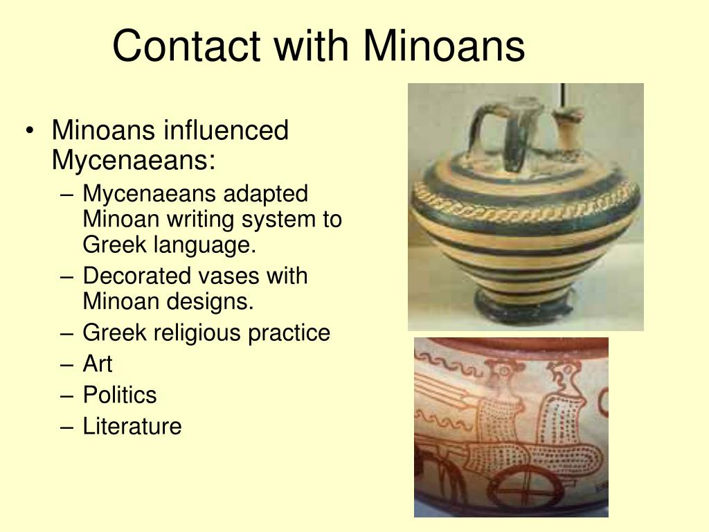 minoan religion In contradiction to the middle helladic period which lacked completely religious signs, during the following period on mainland greece religion.