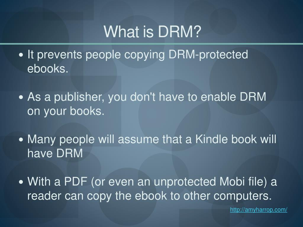 What is DRM?