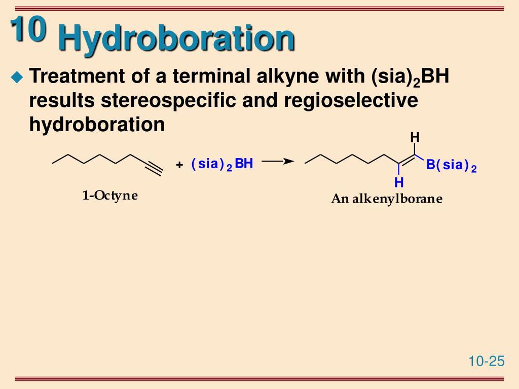 Hydroboration