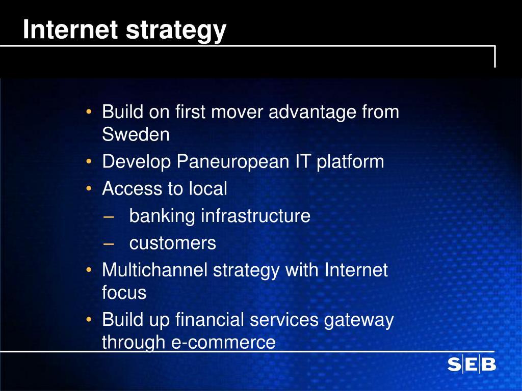 Internet strategy