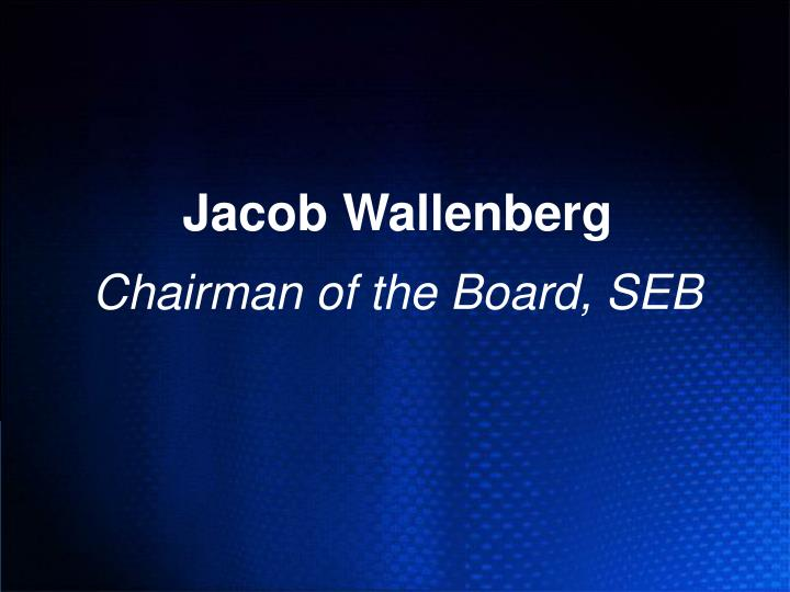 Jacob Wallenberg