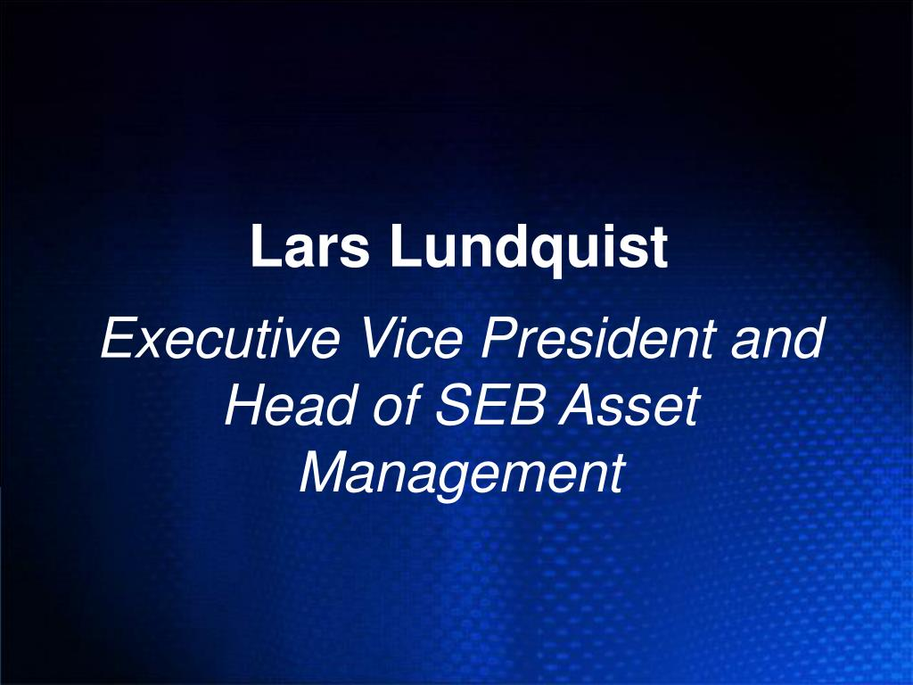 Lars Lundquist