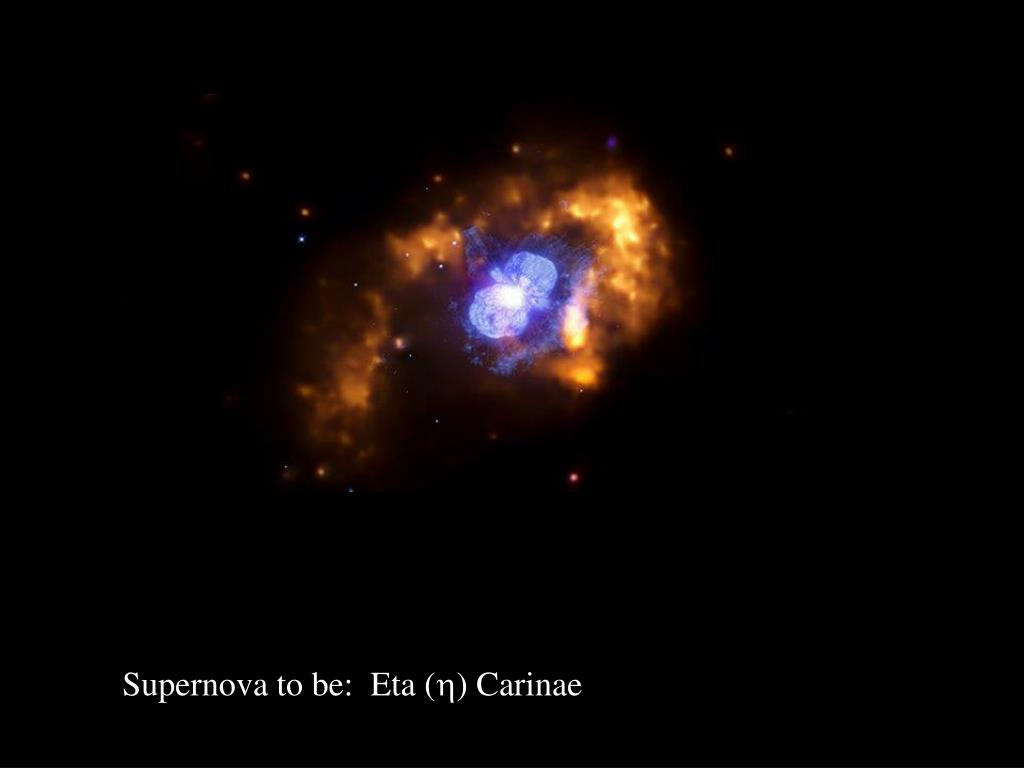 Supernova to be:  Eta (