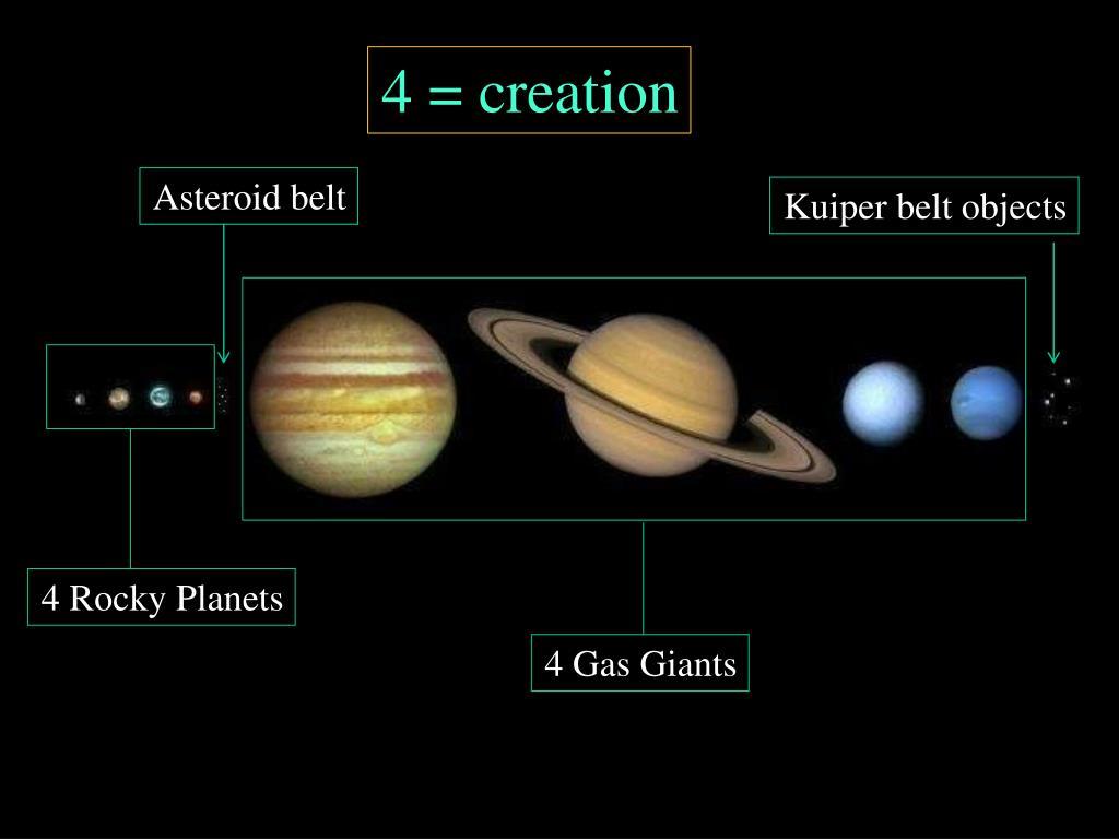 4 = creation