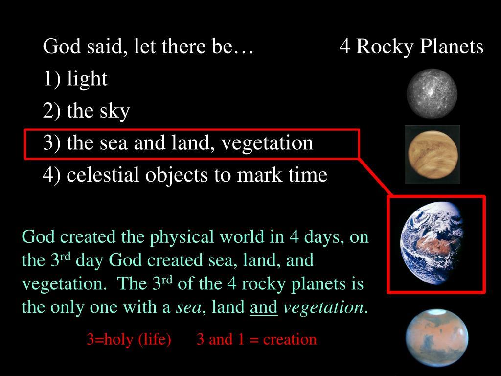 4 Rocky Planets