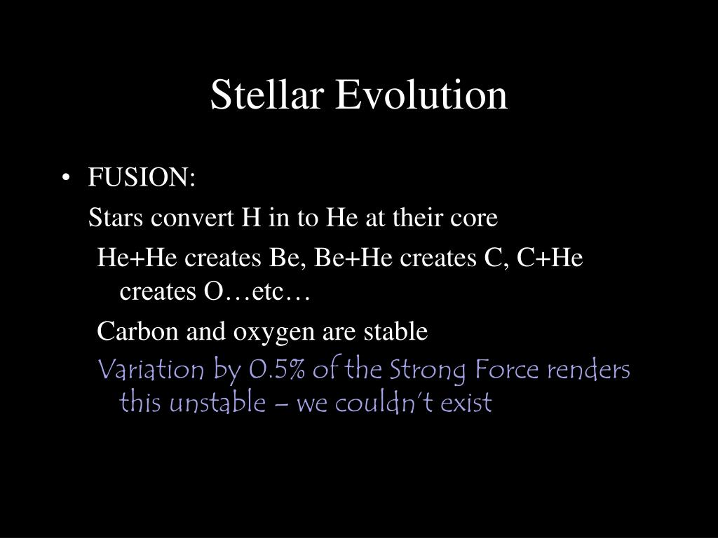 Stellar Evolution