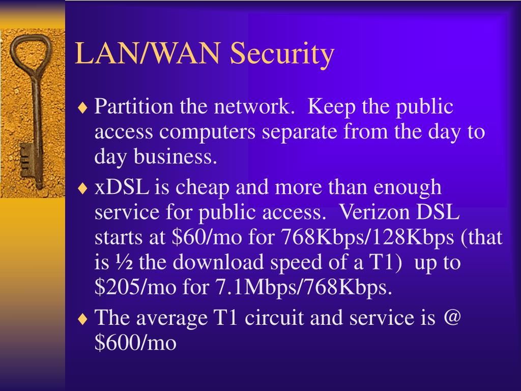 LAN/WAN Security