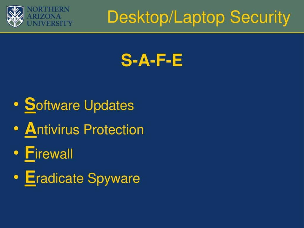 Desktop/Laptop Security