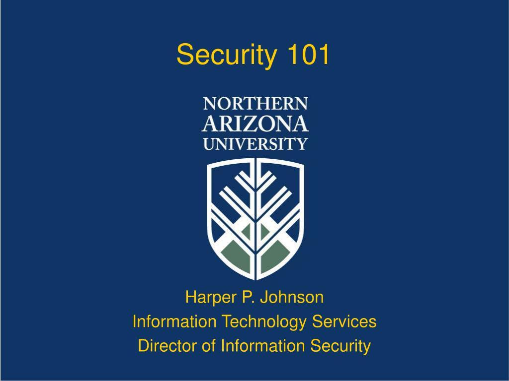 Security 101