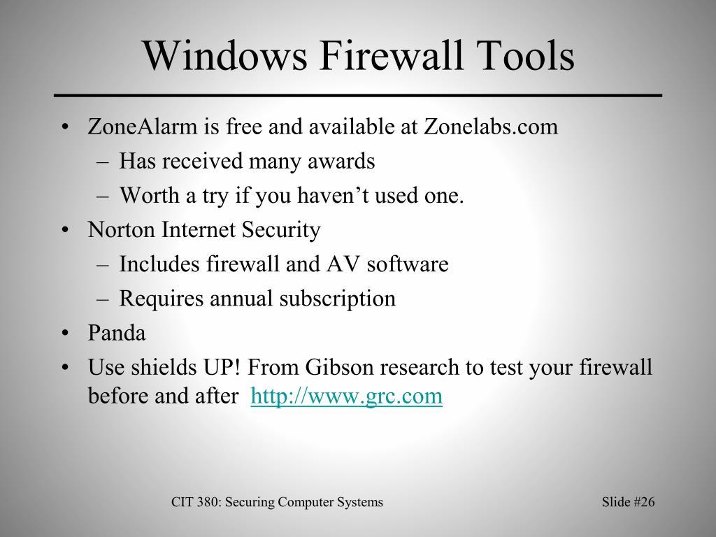 Windows Firewall Tools