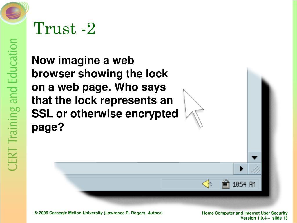 Trust -2