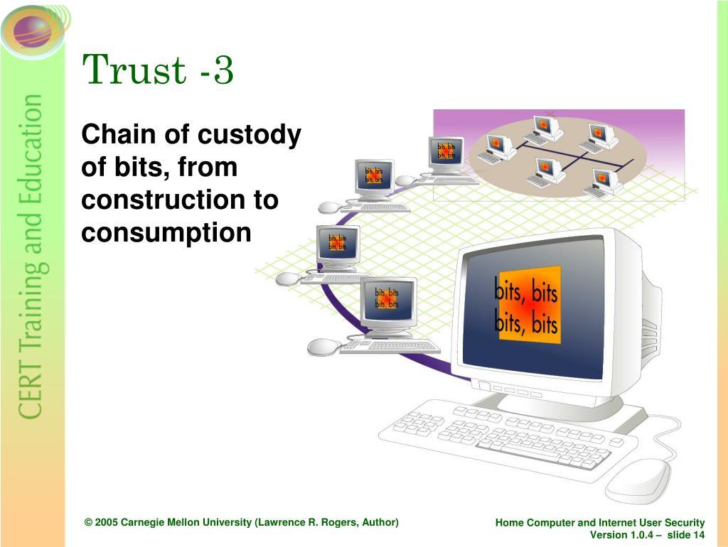 Trust -3