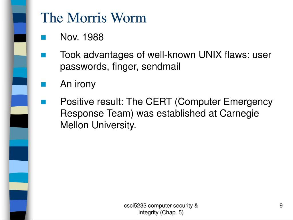 The Morris Worm