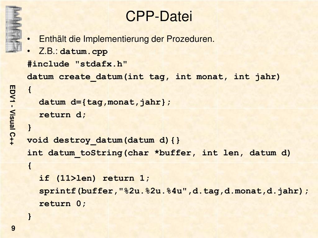CPP-Datei