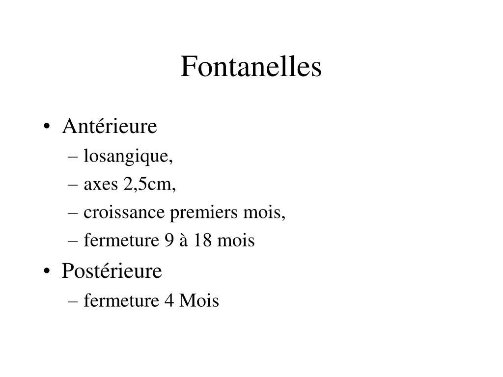 Fontanelles