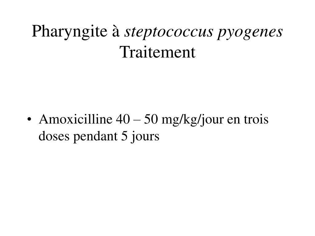 Pharyngite à