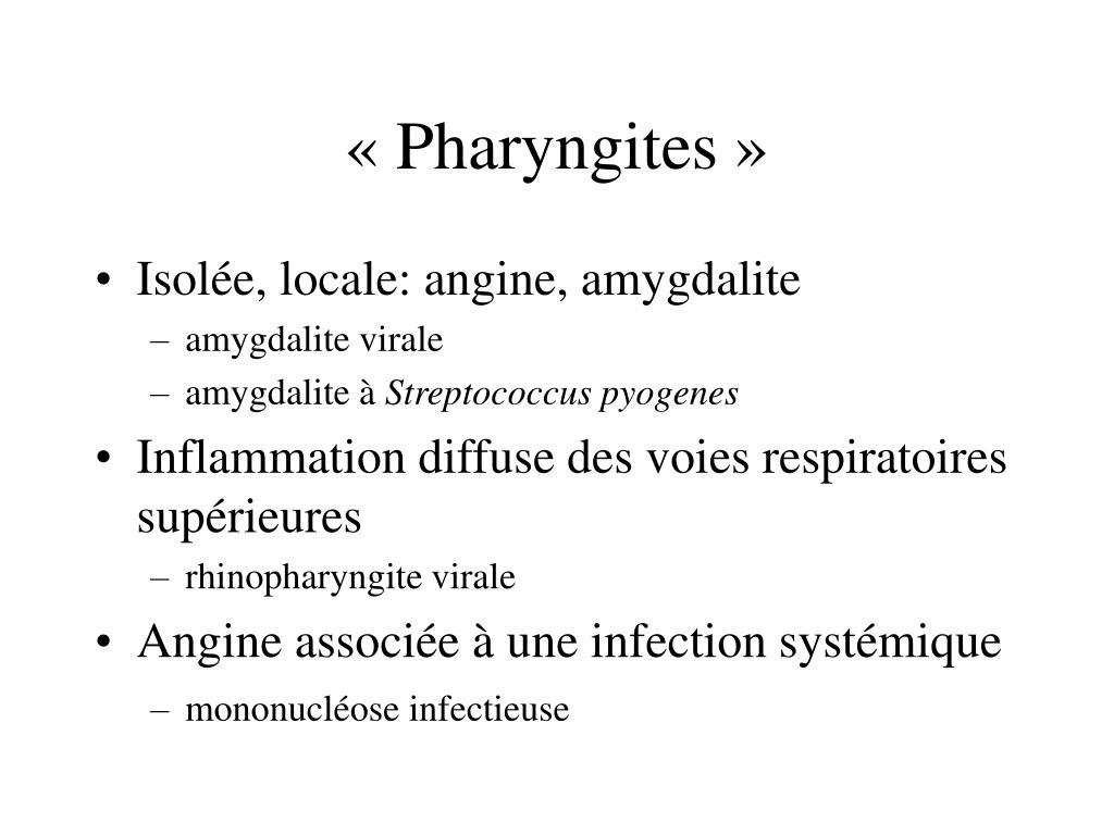 «Pharyngites»