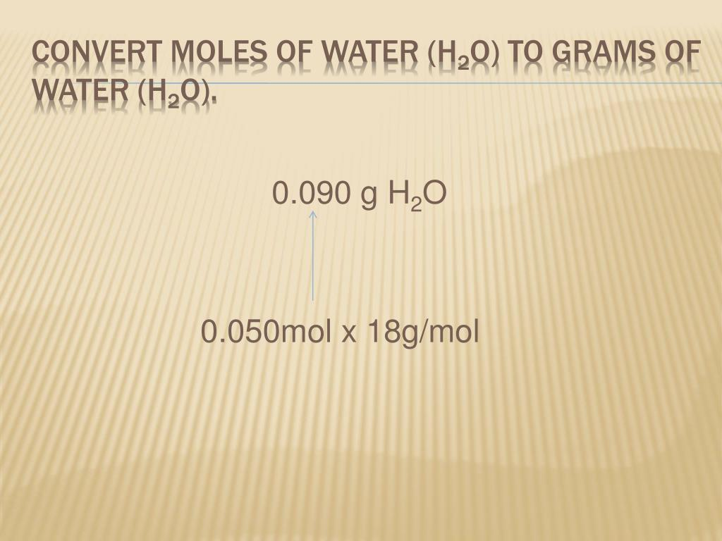 0.090 g H