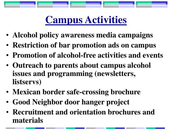 Campus Activities
