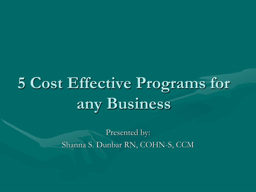 5 Cost Effective Programs for any Business