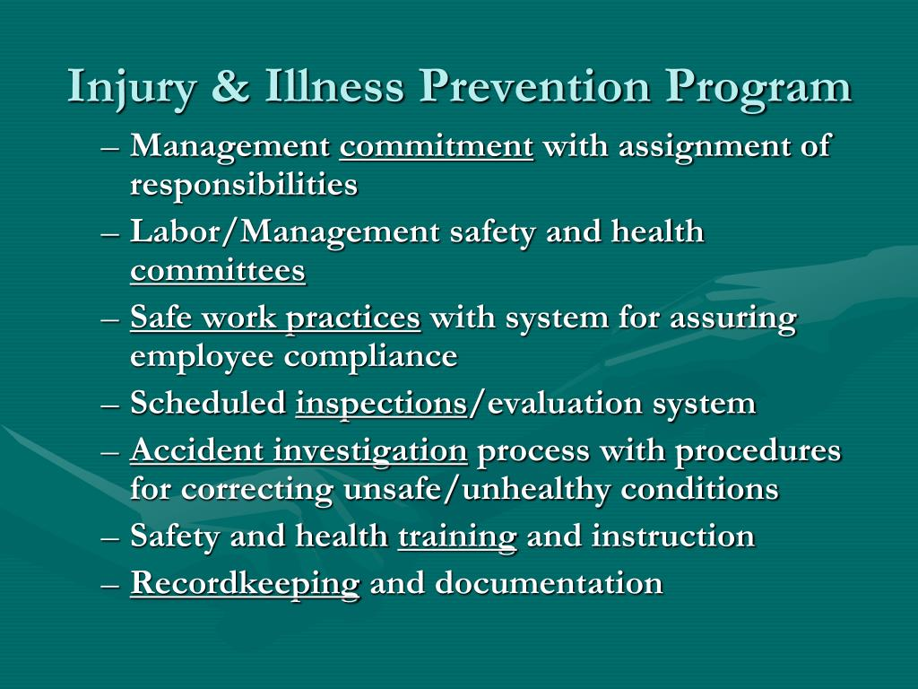 Injury & Illness Prevention Program