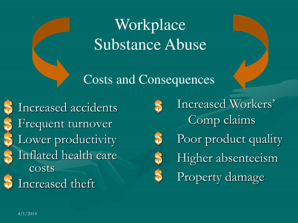 Workplace Substance Abuse