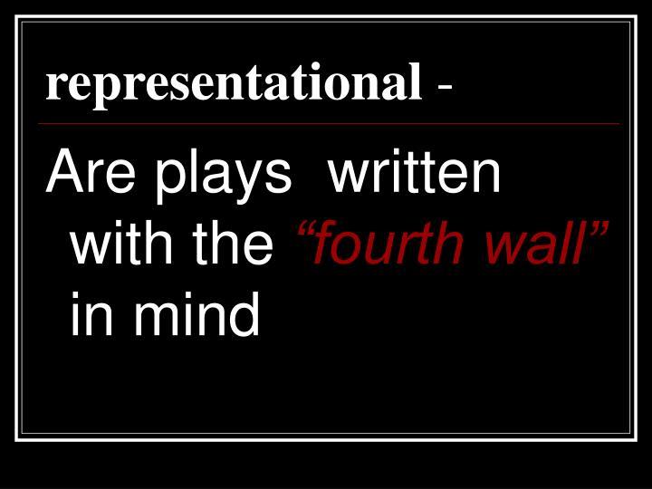 representational