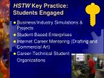 hstw key practice students engaged