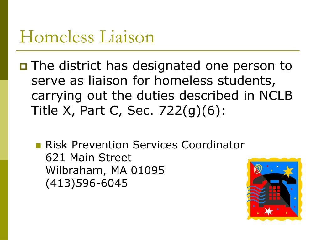 Homeless Liaison