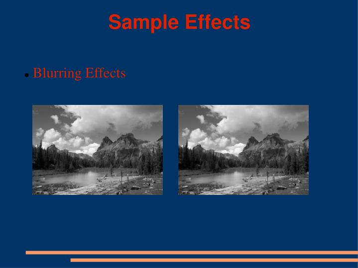 Sample Effects