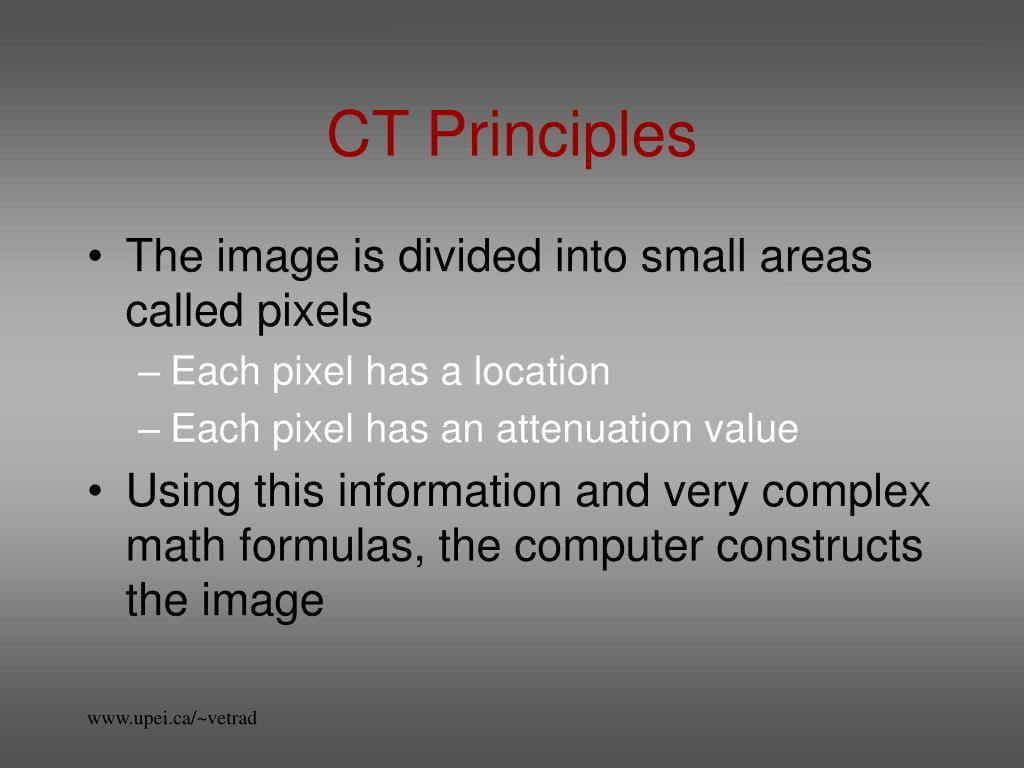 CT Principles