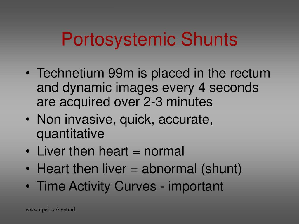 Portosystemic Shunts