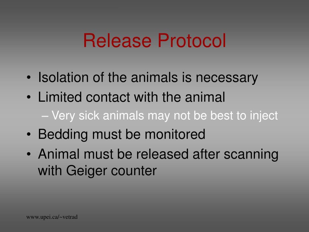 Release Protocol