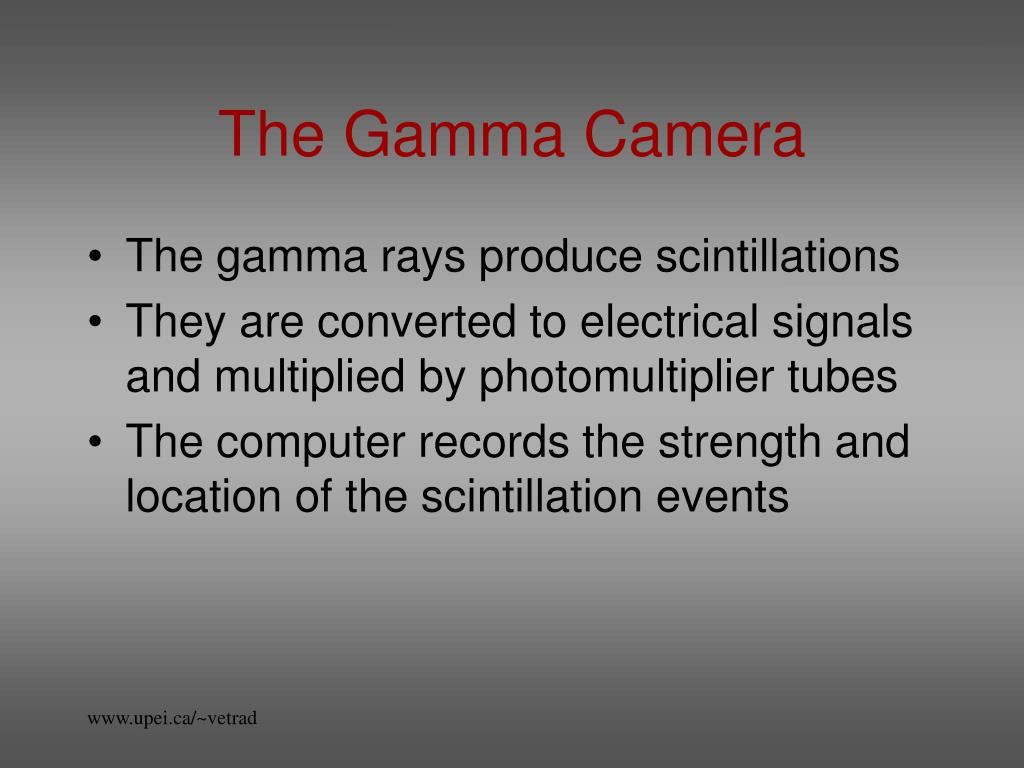 The Gamma Camera