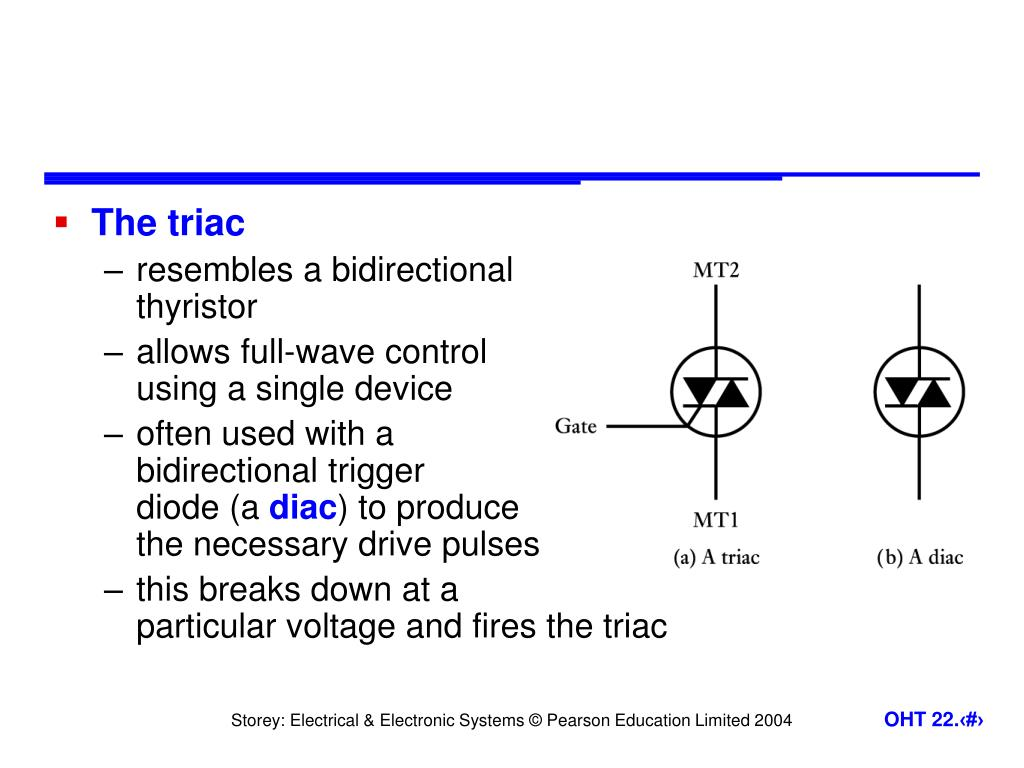 The triac