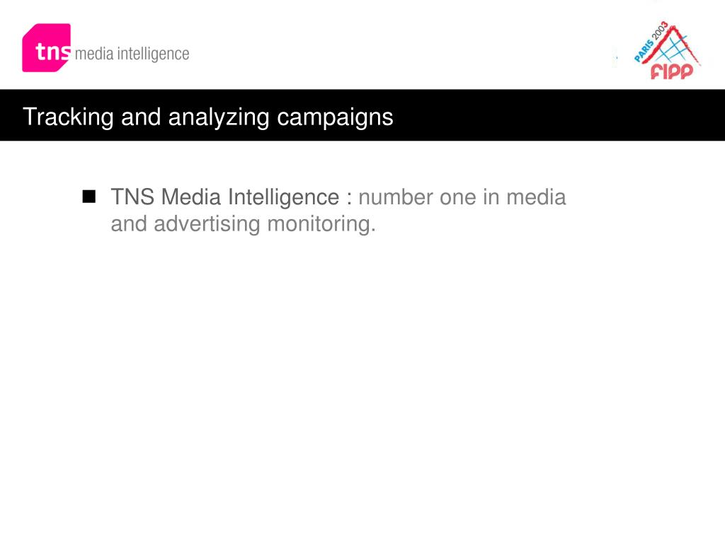 Tracking and analyzing campaigns