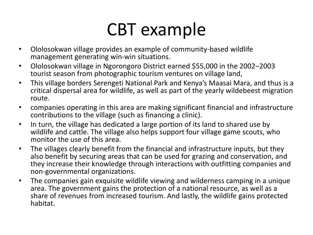 CBT example