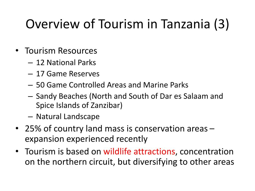 Overview of Tourism in Tanzania (3)